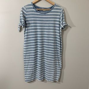 Jane and delancey Striped t shirt dress size med